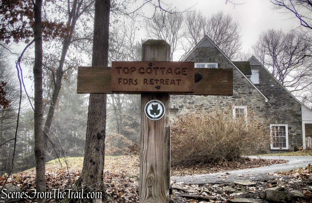 terminus of Top Cottage Trail