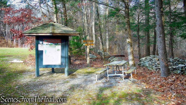 Hackett Hill Park trailhead