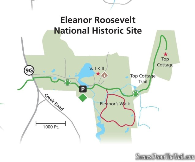 Eleanor's Walk & Top Cottage Trail