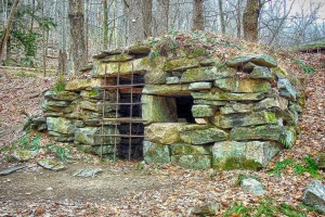 Corbelled Stone Chamber - Mountain Lakes Park