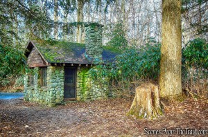 warming hut - Yellow Trail - Hart's Brook Park and Preserve