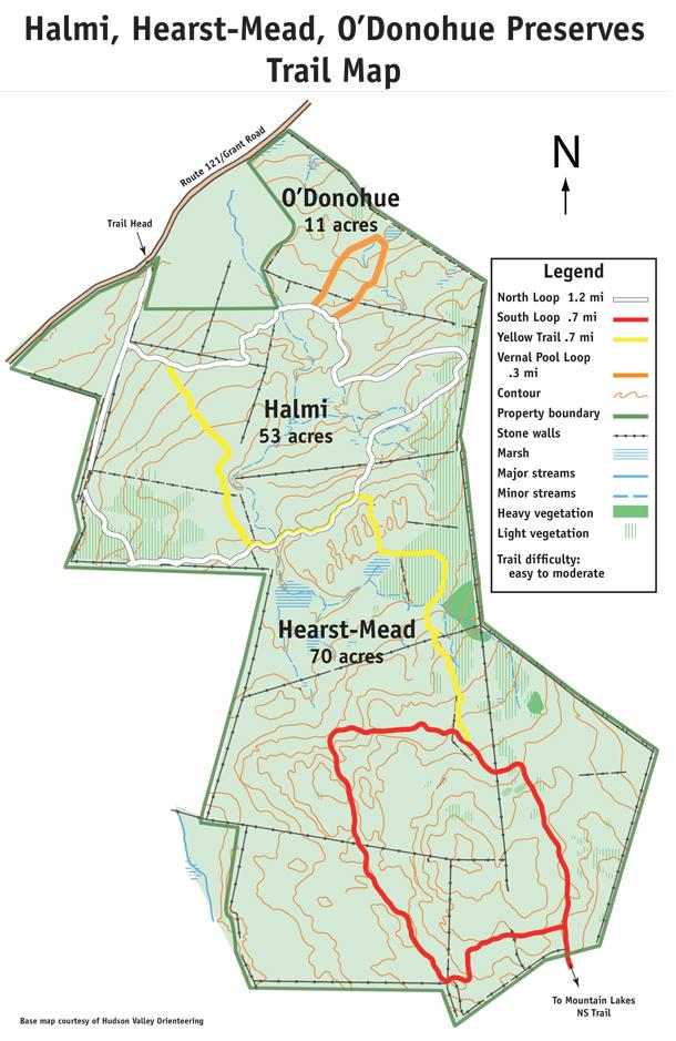 Halmi, Hearst-Mead, O'Donohue Preserves