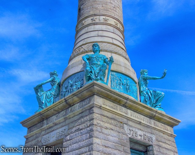 Soldiers & Sailors Monument - East Rock Park
