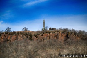 Soldiers and Sailors Monument - summit of East Rock