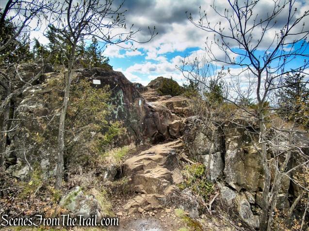 Mattabesett Trail - Chauncey Peak