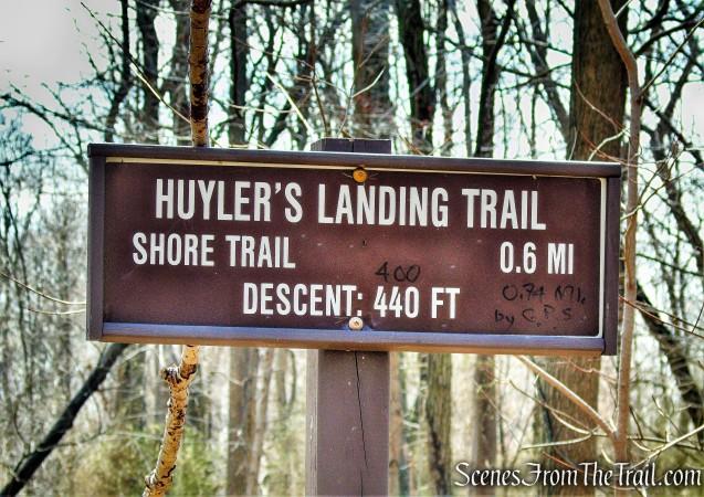Huyler's Landing Trail