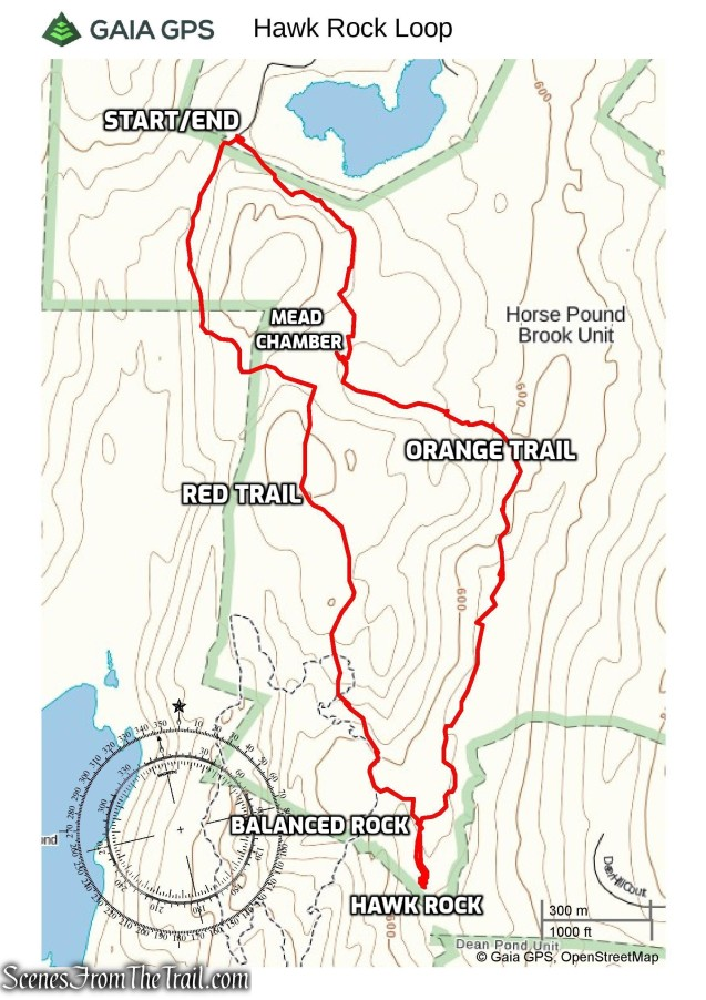 Hawk Rock Loop