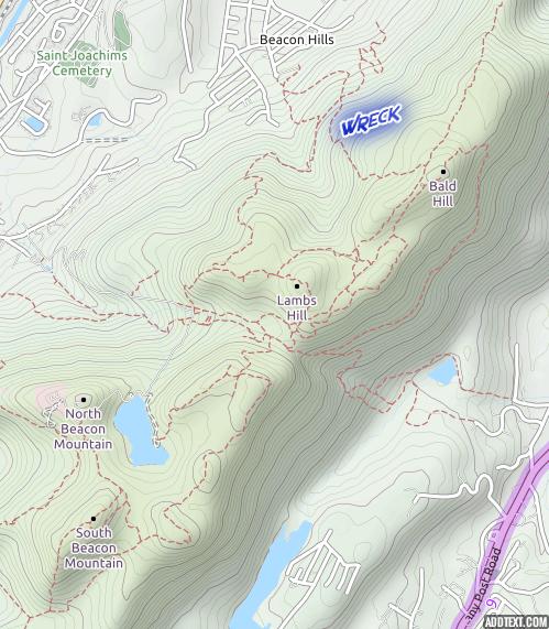 East Hudson Highlands Topo Map