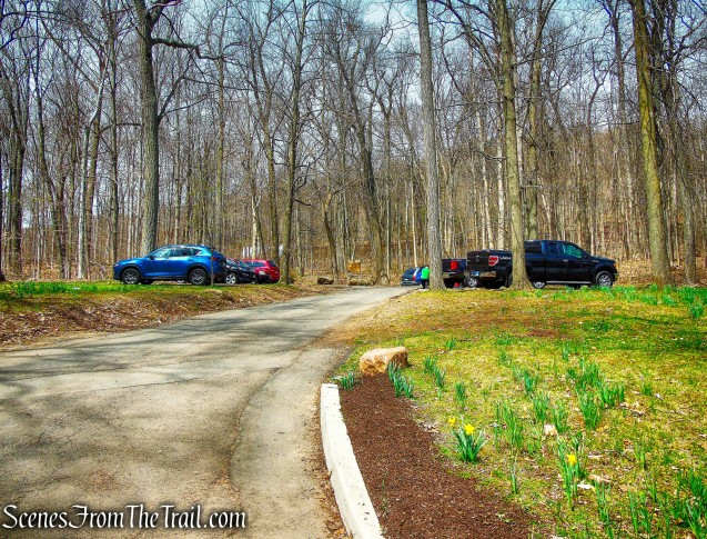 trailhead parking - Hubbard Park
