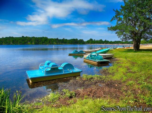 boat rental - Lake Taghkanic State Park