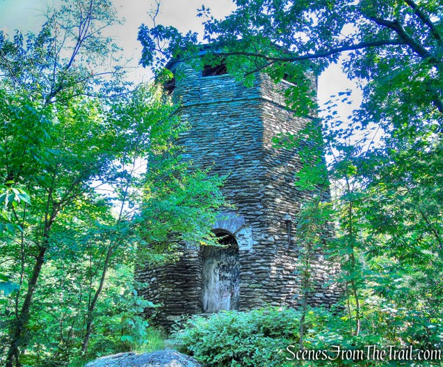 stone water tower - Lake Taghkanic State Park