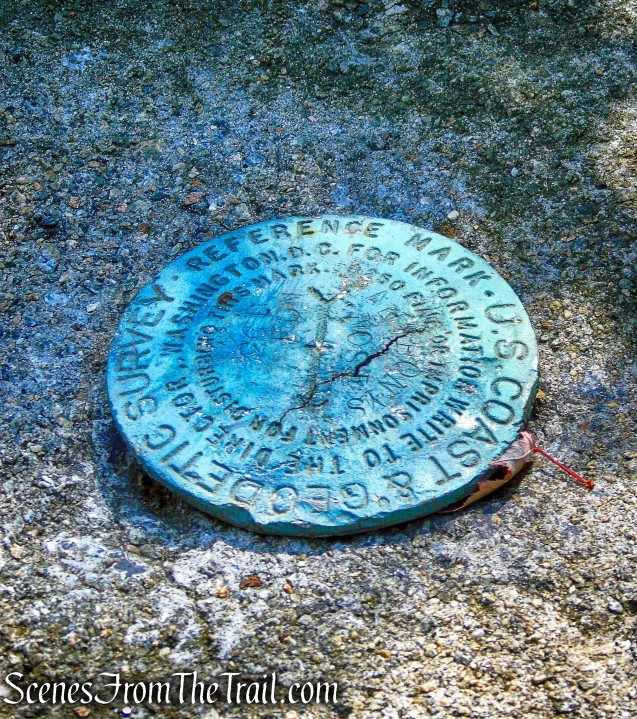 site of an airway beacon that was once located at the summit of Anthony's Nose