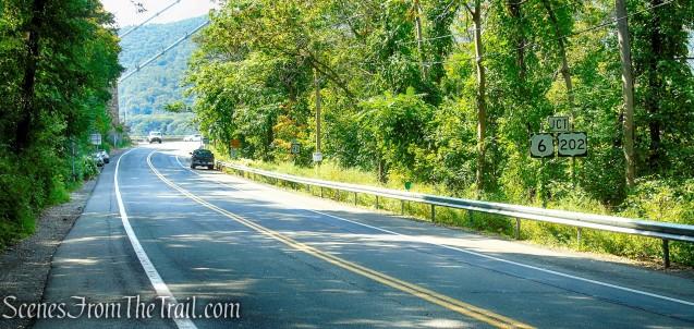 Appalachian Trail along Route 9D