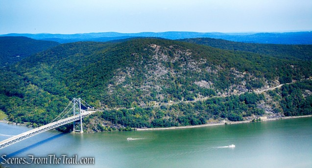 Anthony's Nose as viewed from Bear Mountain