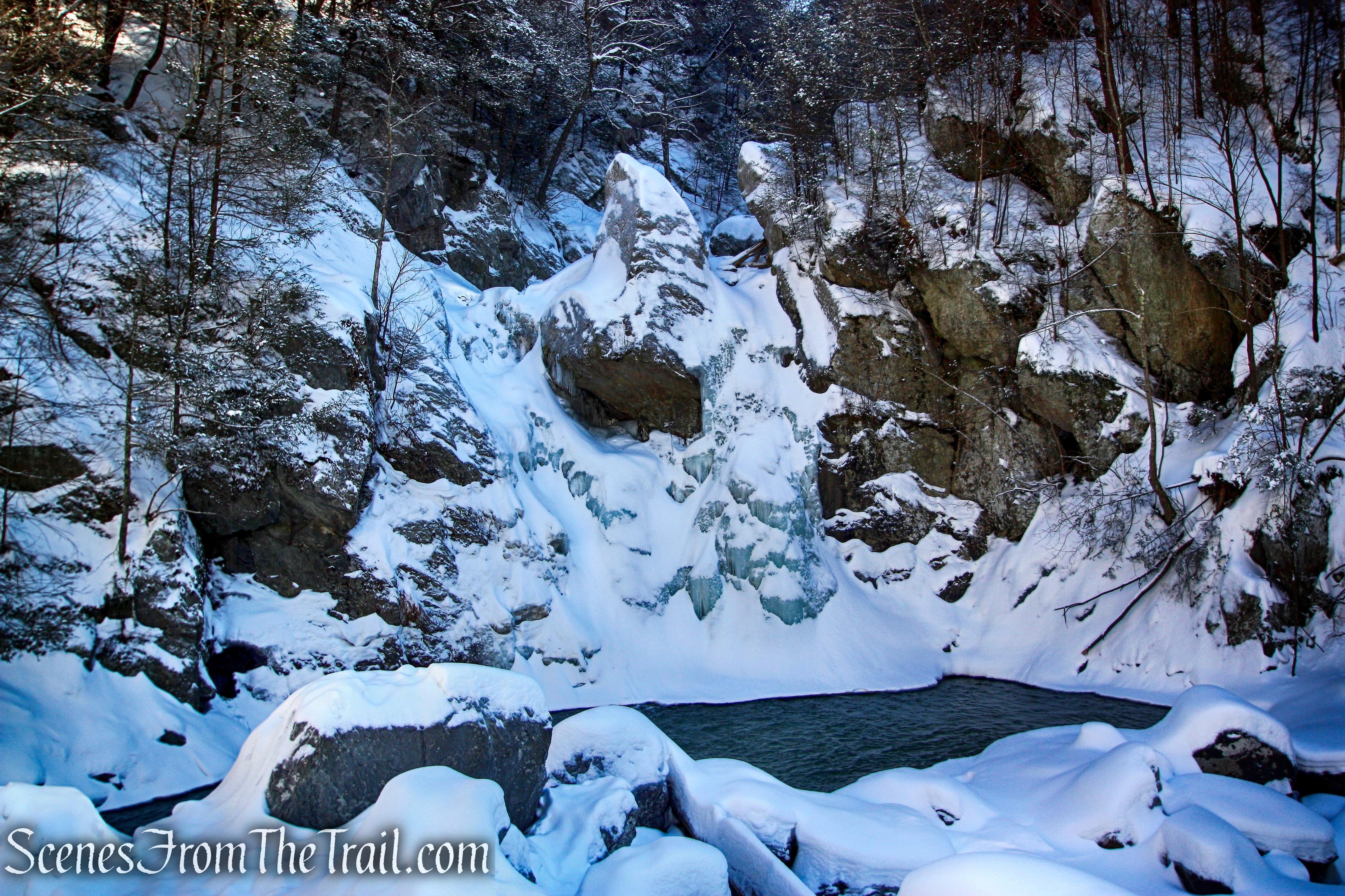Bash Bish Falls - February 22, 2015