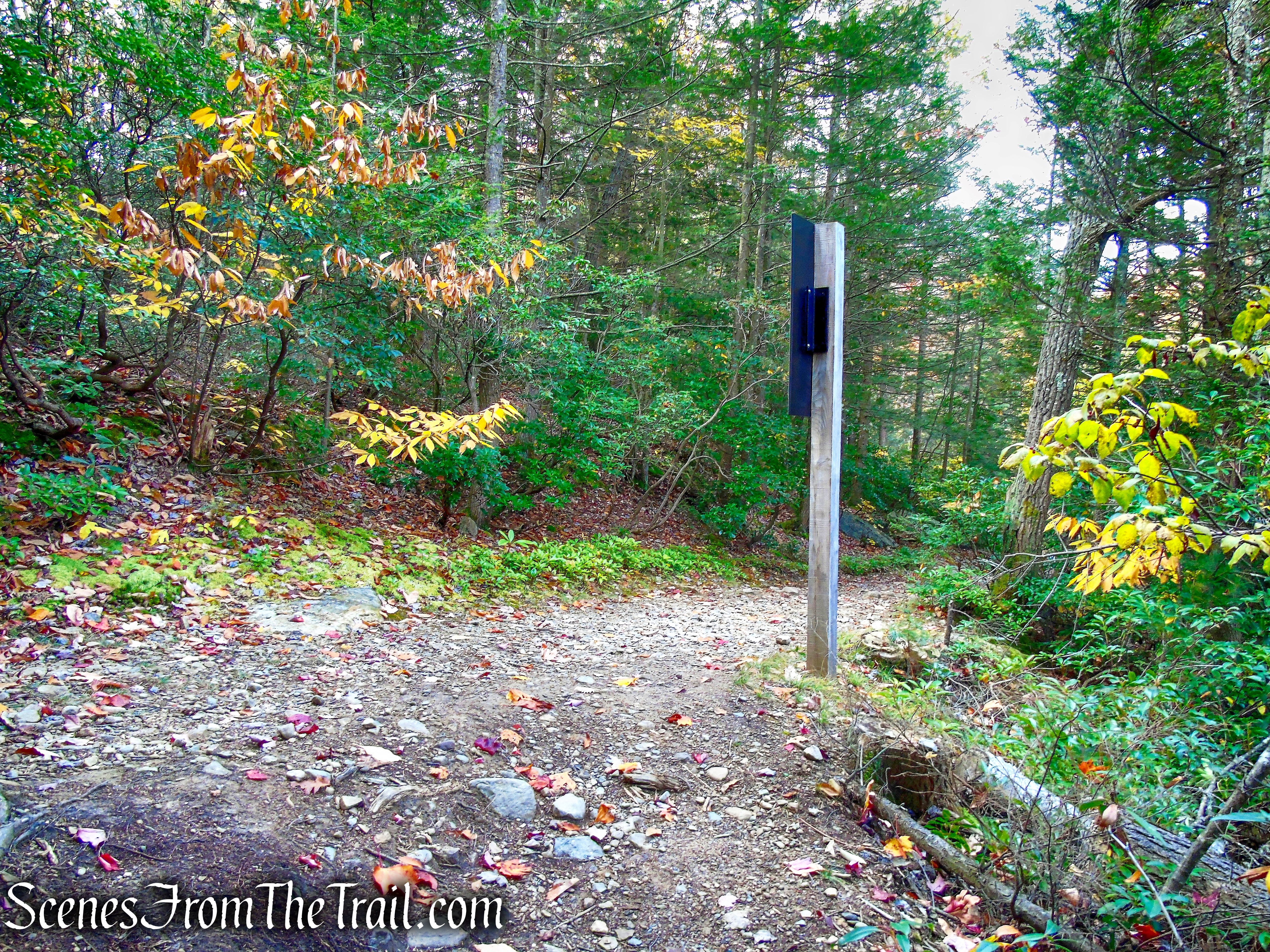 terminus of Stony Kill Footpath – Minnewaska State Park Preserve