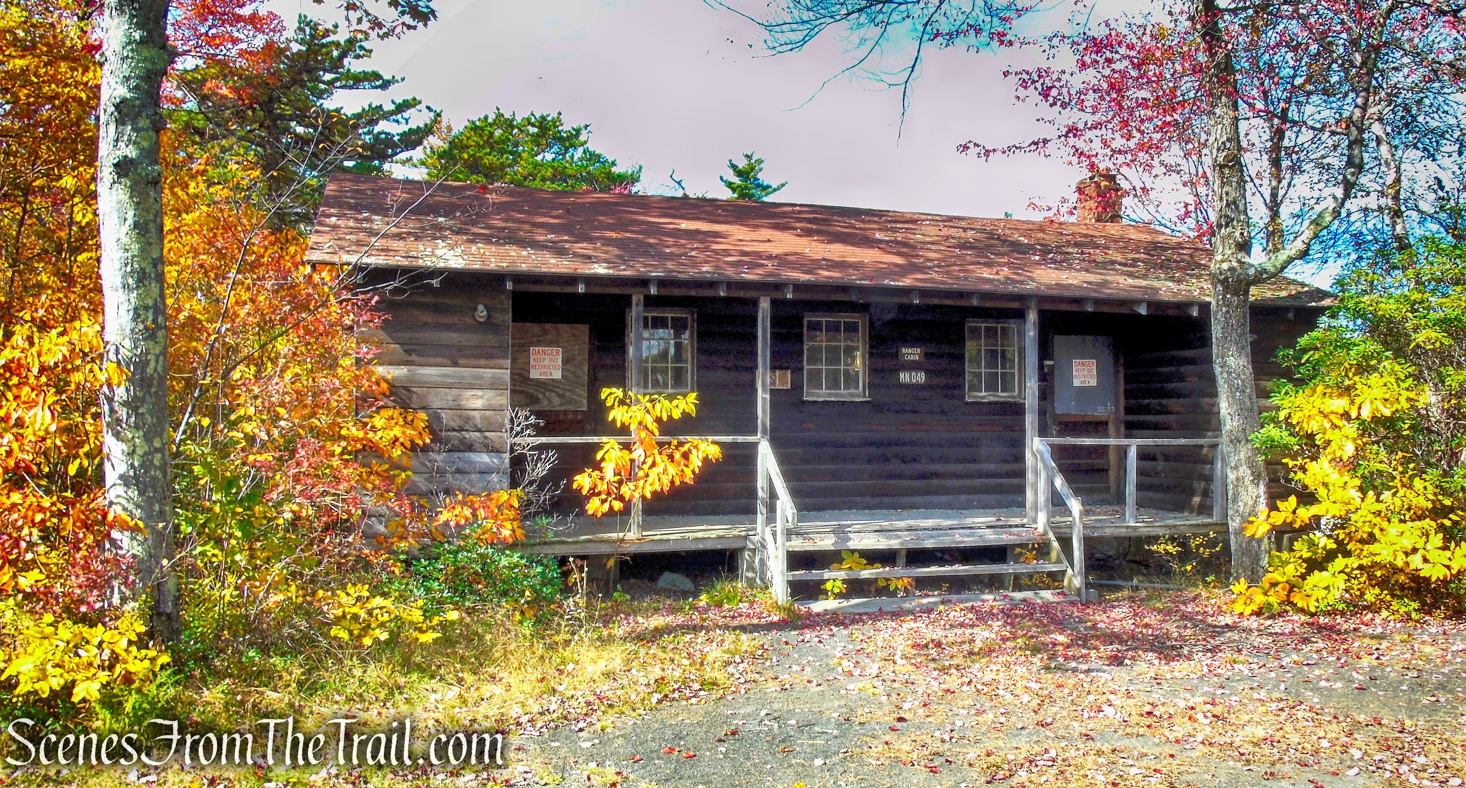 Old Ranger Cabin - Lake Awosting Carriage Road