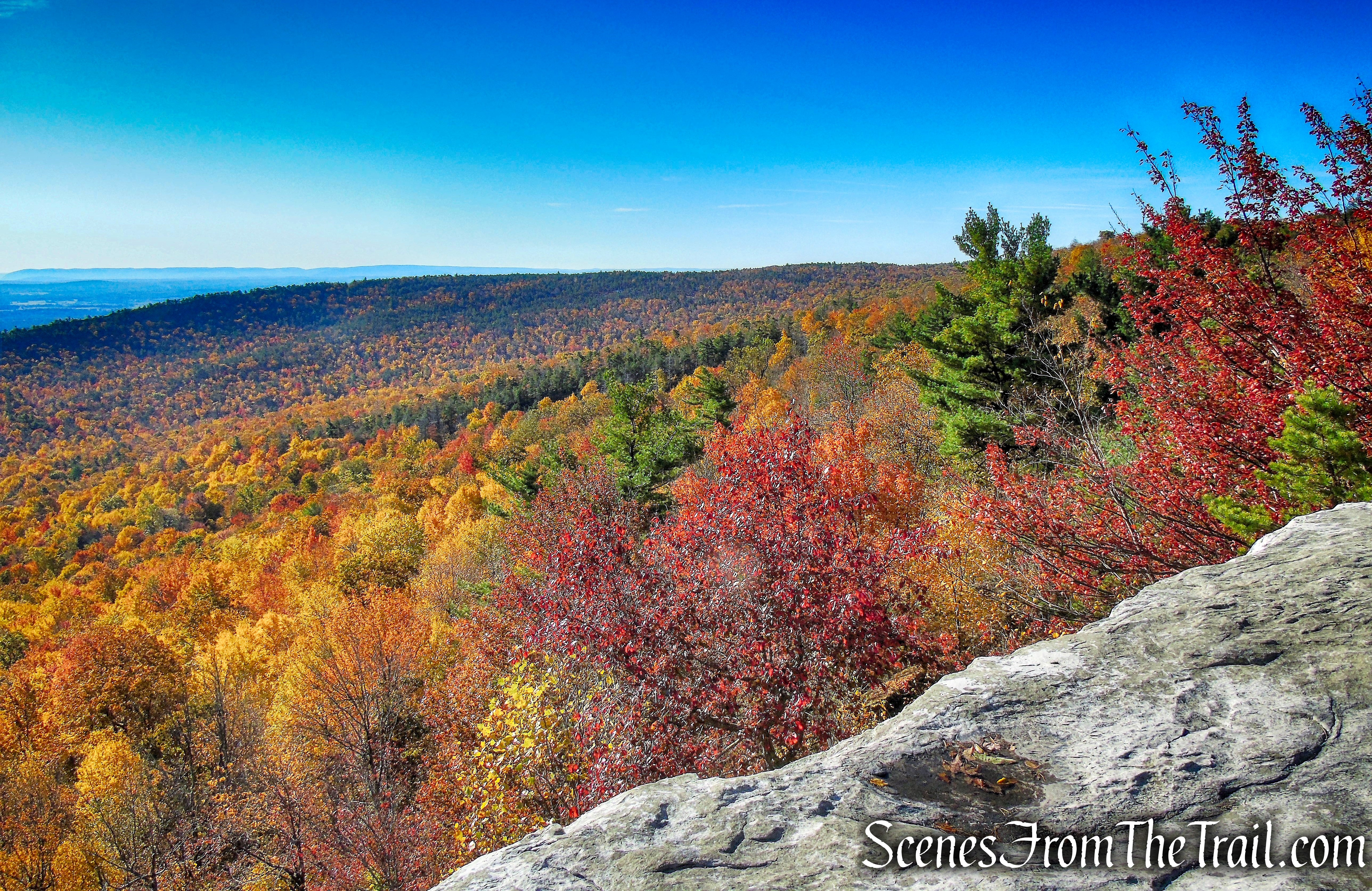 viewpoint off of Lake Minnewaska Carriage Road
