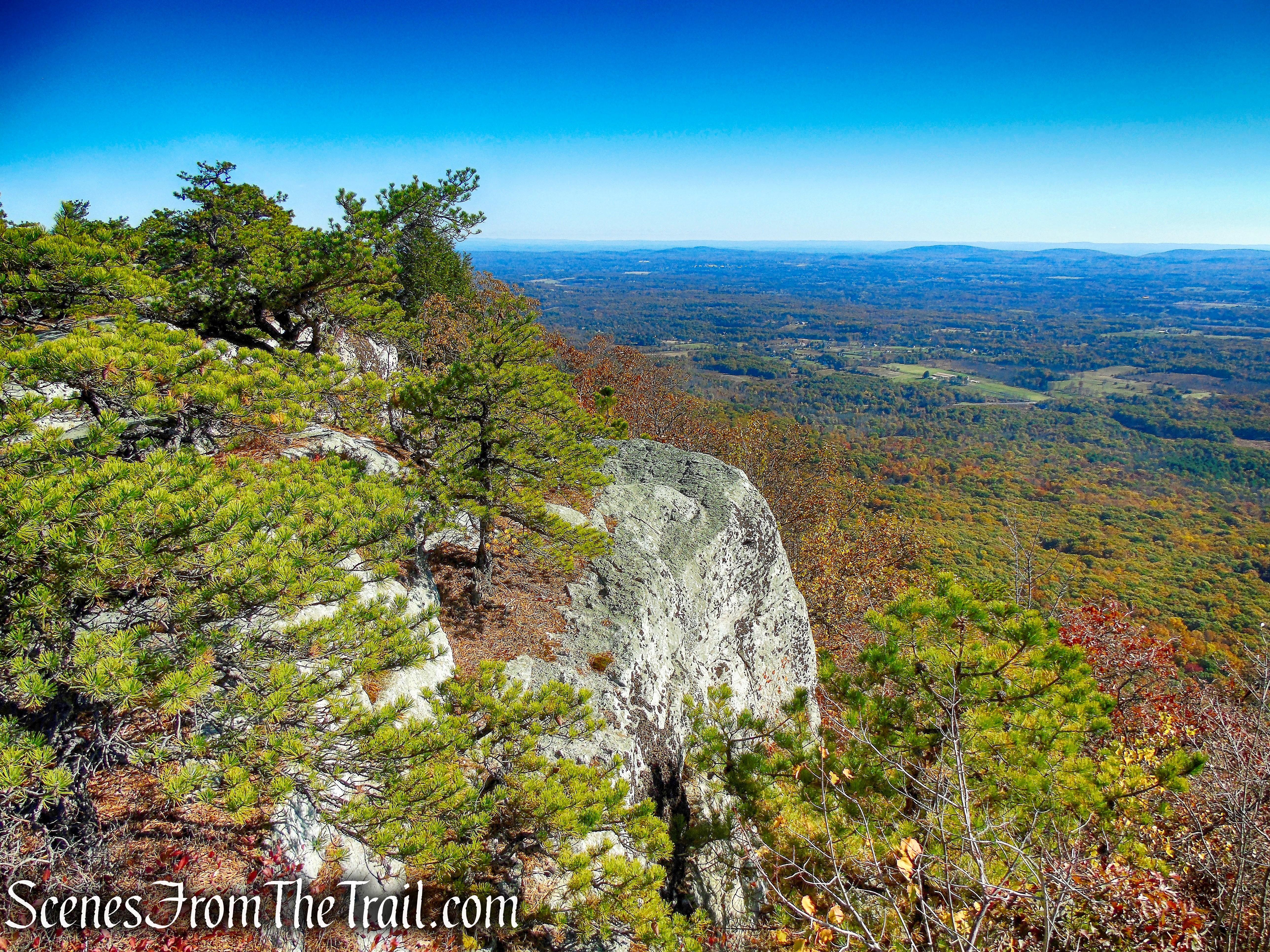 summit of Millbrook Mountain - Minnewaska State Park Preserve