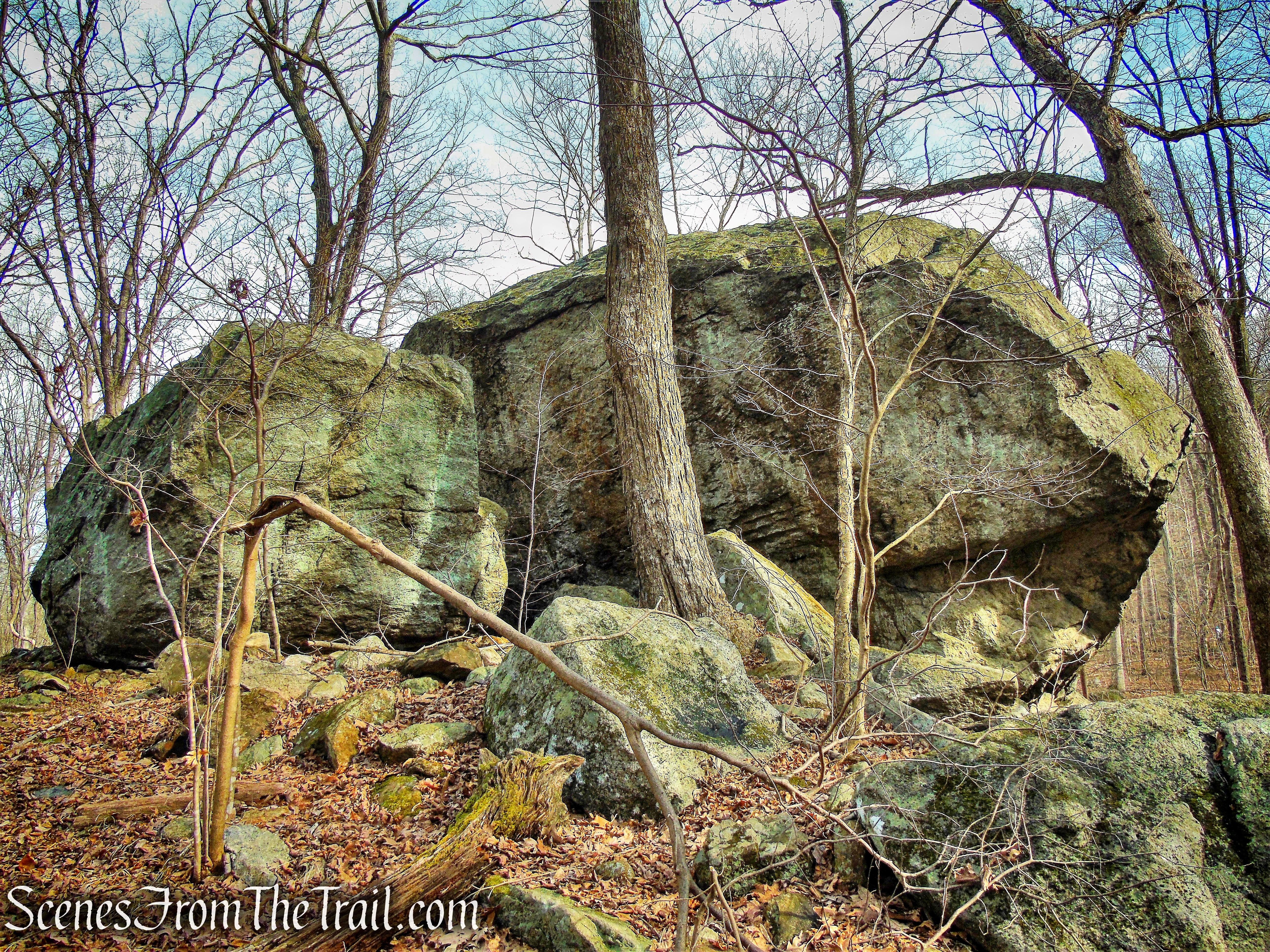 Bear Rock - Pyramid Mountain Natural Historic Area