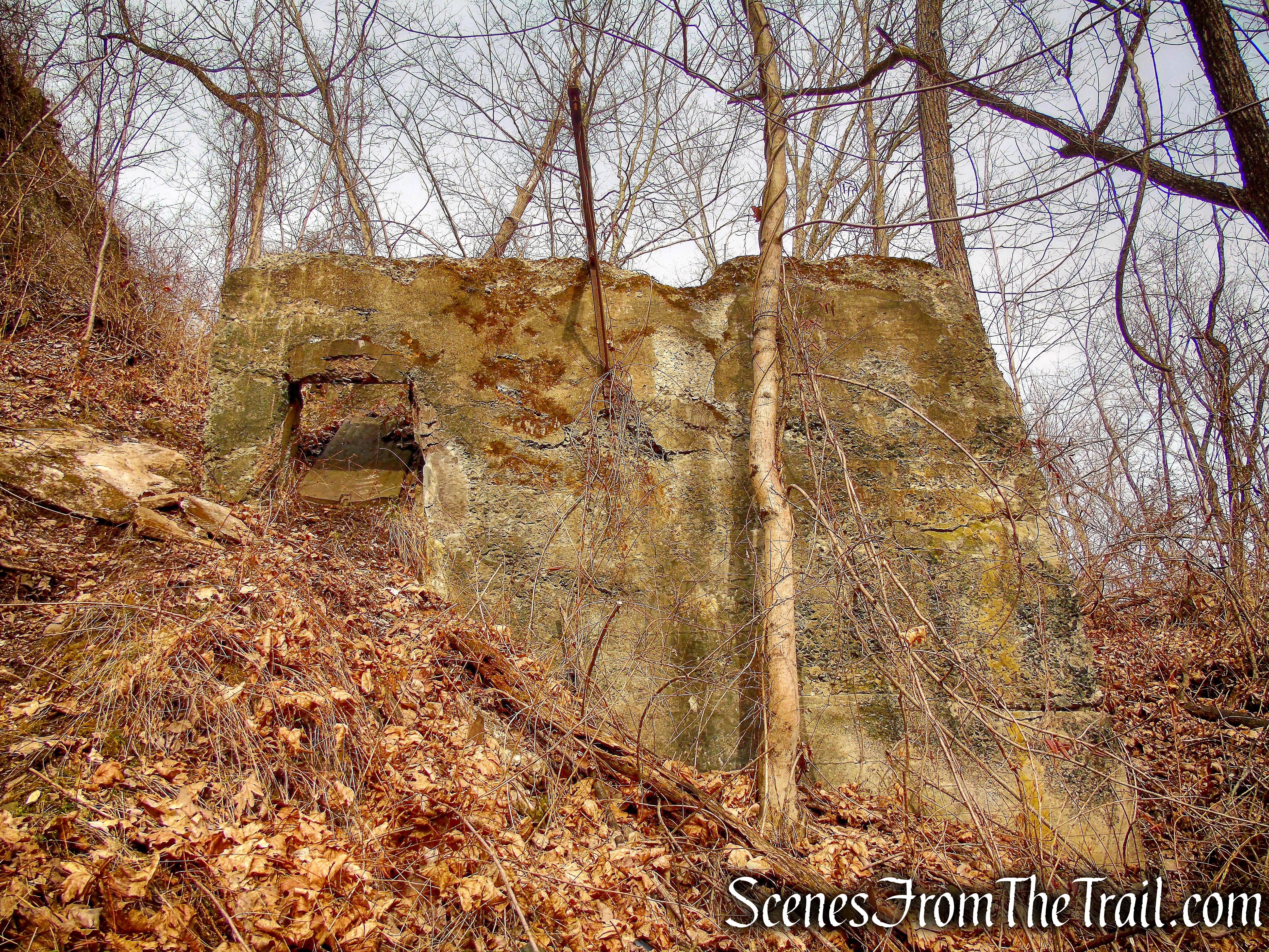 Rocky Hill Stone Company ruins