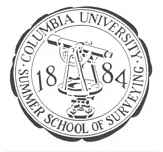 Columbia University Summer School of Surveying