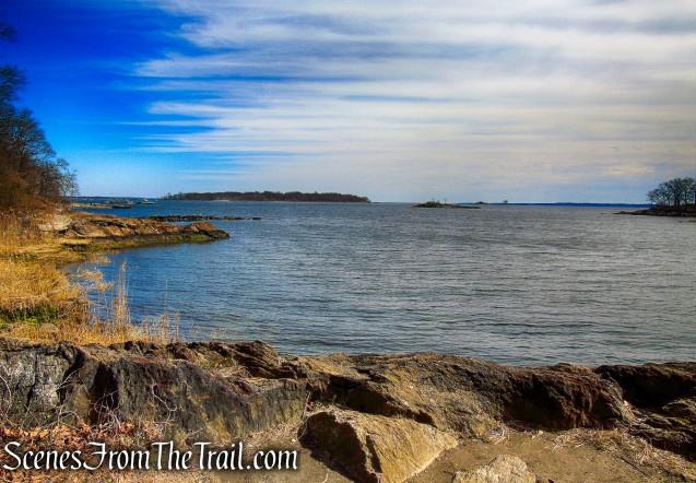 looking north towards David's Island