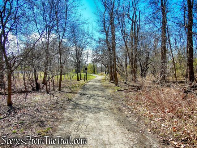 paved road - Hunter Island