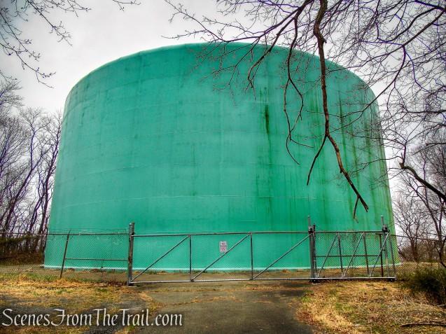 village of Tarrytown water tank