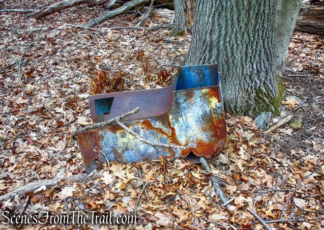 off trail ruins - Taxter Ridge Park Preserve