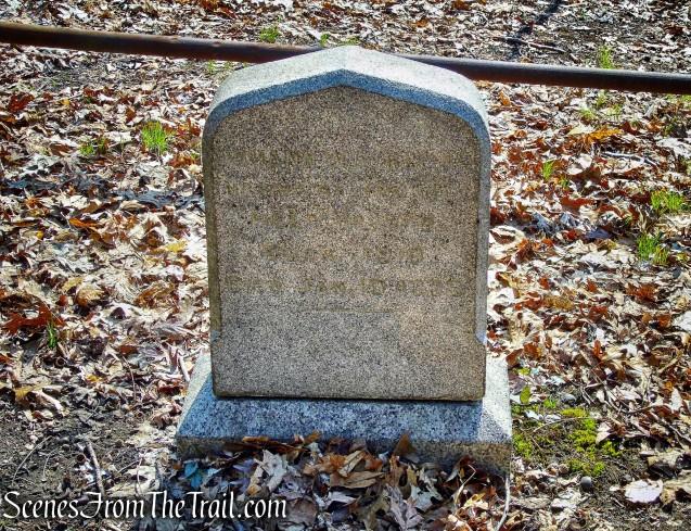 Hermit's Grave - Irvington Woods