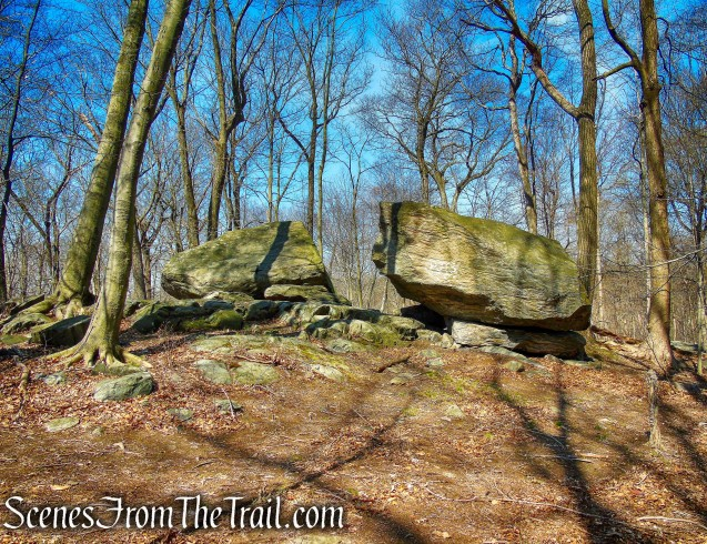 Split Rock - Irvington Woods