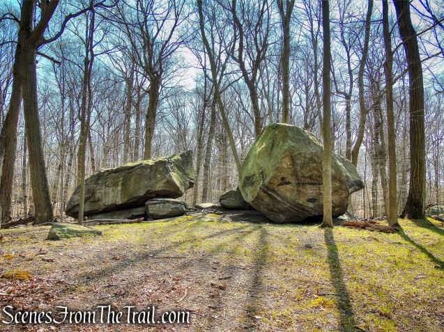 Split Rock - Irvington Woods