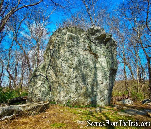 Glacial Erratic - Rockefeller State Park Preserve