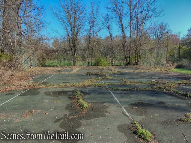 tennis court - French Hill Section