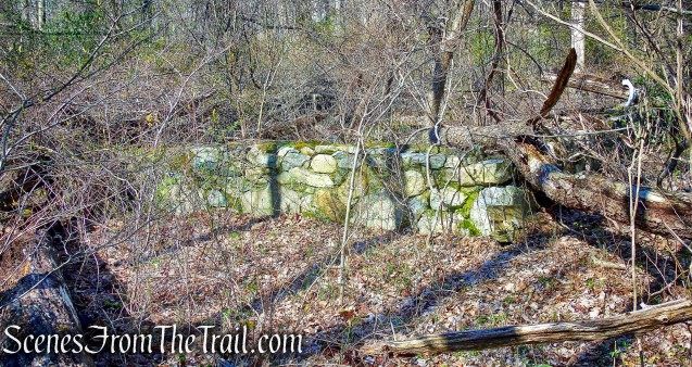 stone ruins - French Hill Section