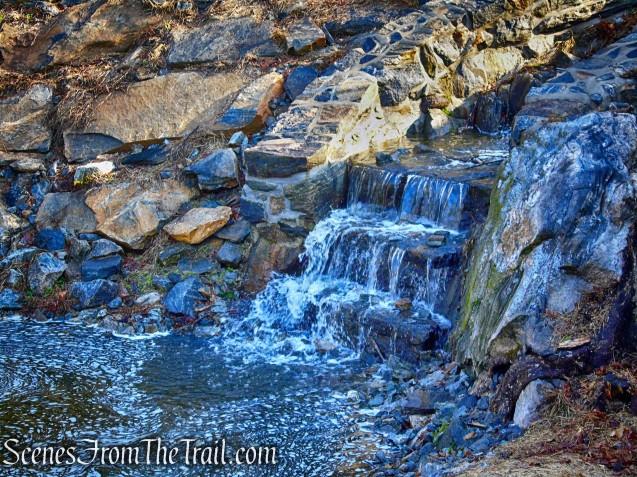 Halsey Pond Dam spillway