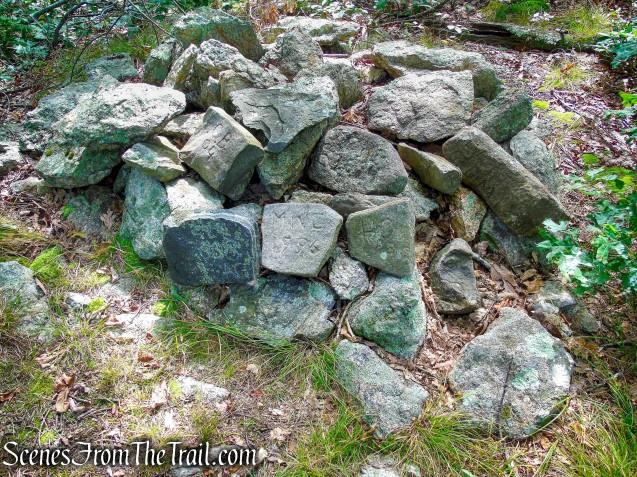 Selectmen's Stones - Mica Ledges Preserve
