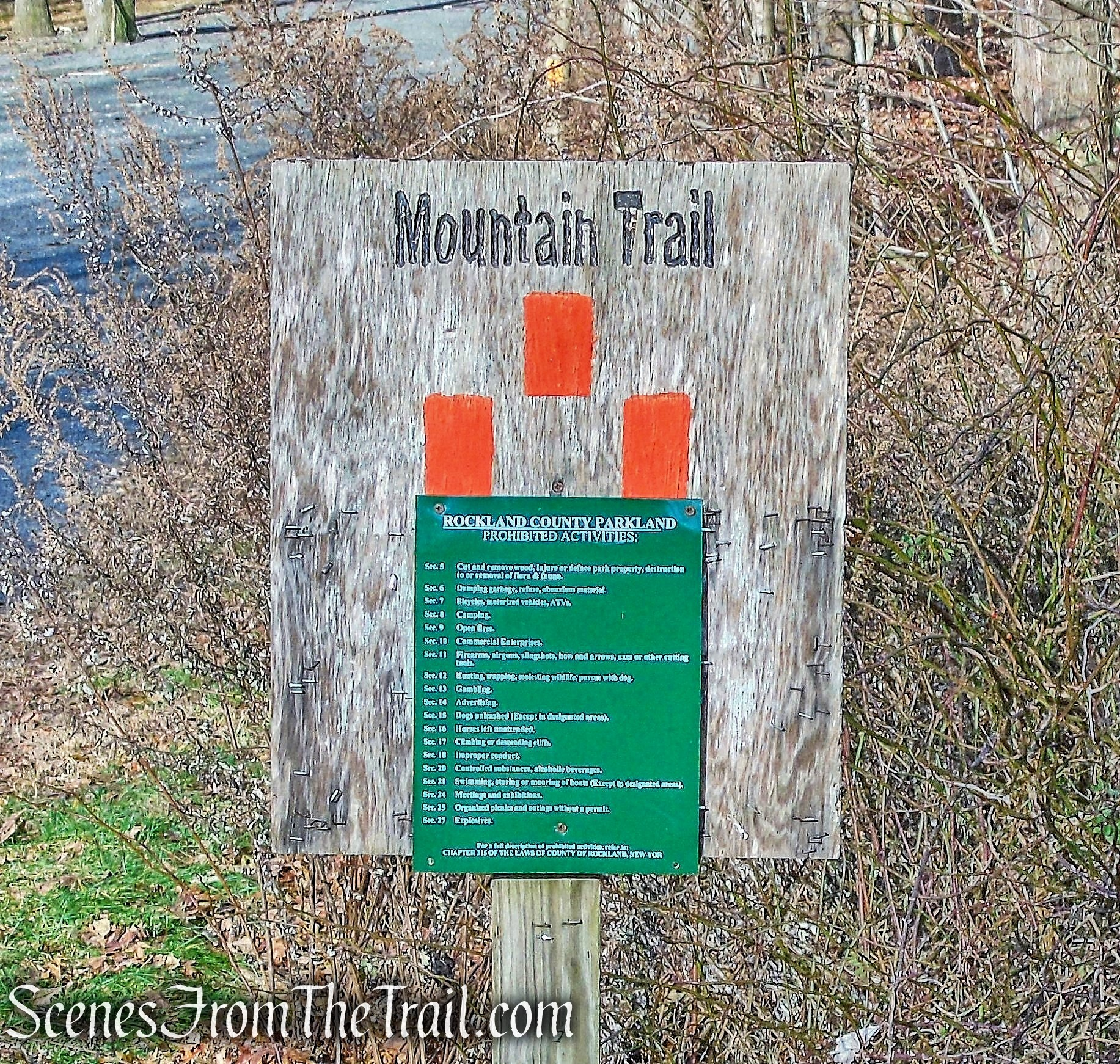 Mountain Trail - Kakiat County Park
