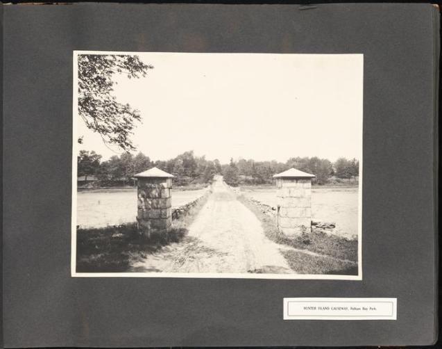 Hunter Island causeway 1905