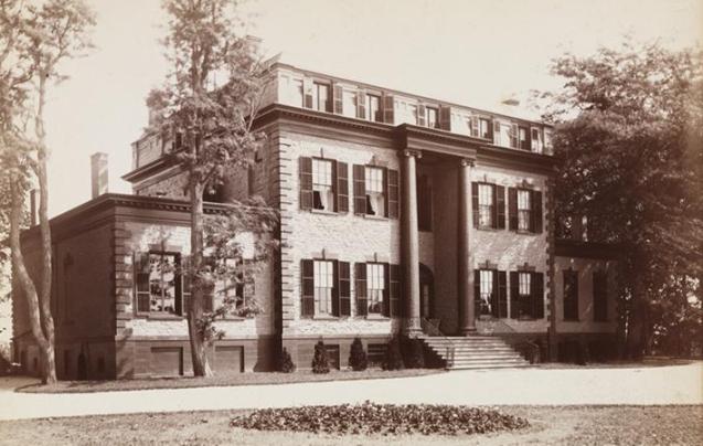Hunter Island Mansion 1882
