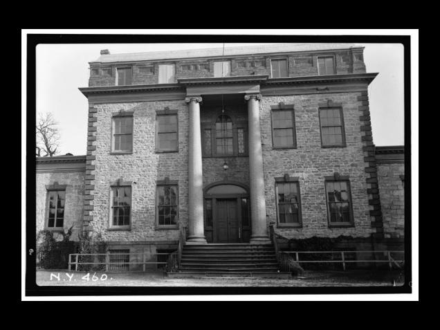 Hunter Island Mansion 1936