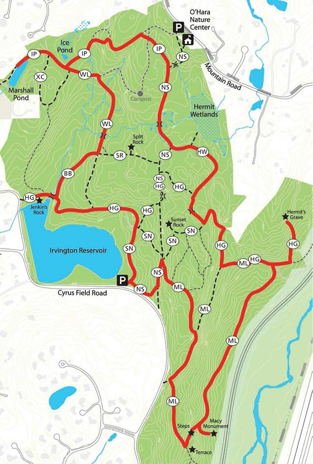 Irvington Woods - Full Perimeter Loop