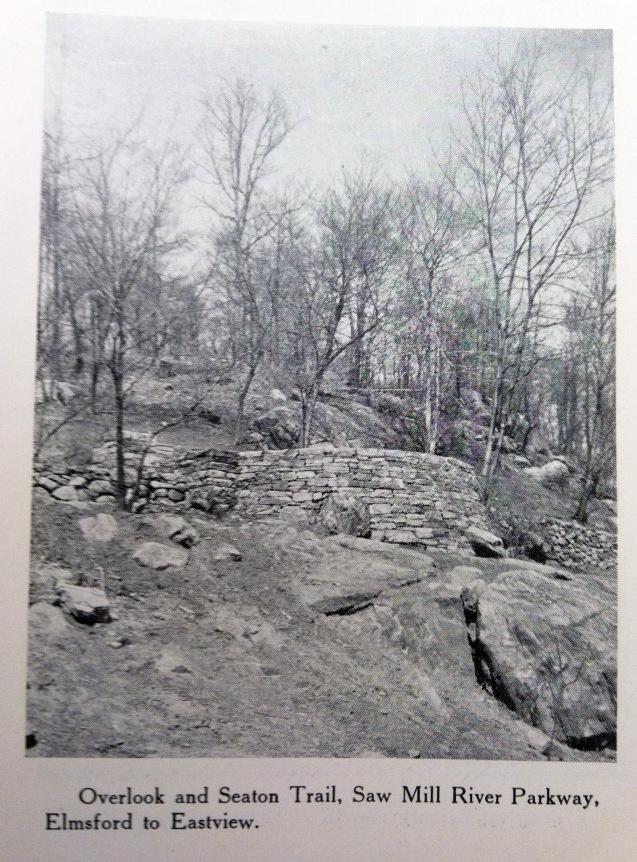 stone overlook - Buttermilk Ridge County Park