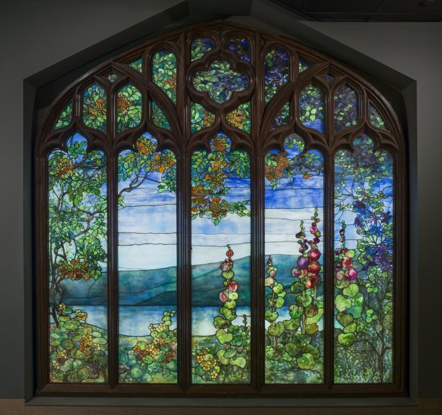 Tiffany window - Rochroane castle