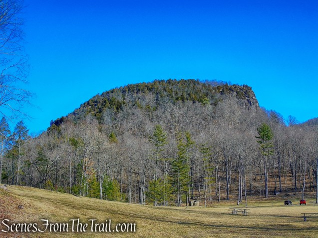 "the ""Head"" - Sleeping Giant State Park"