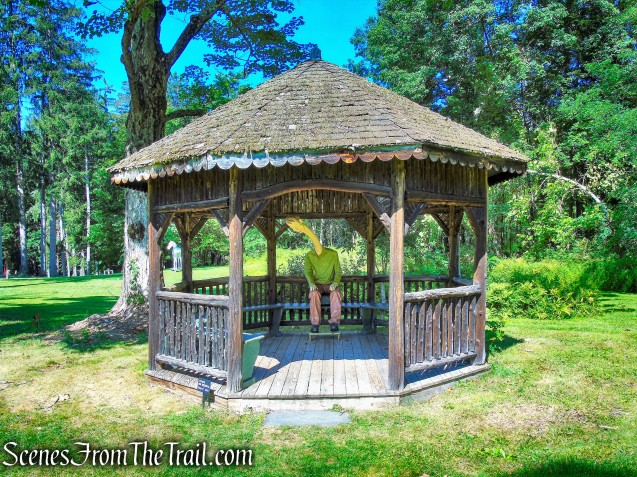 gazebo - Wilderstein Historic Site