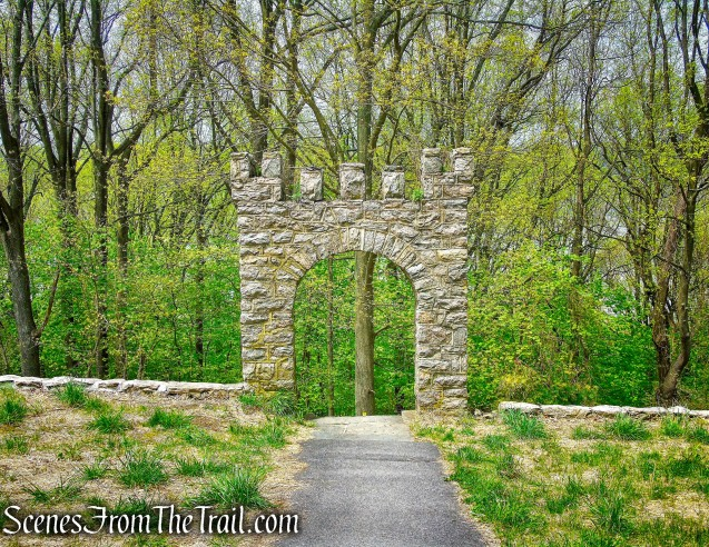 stone arch - Lenoir Preserve