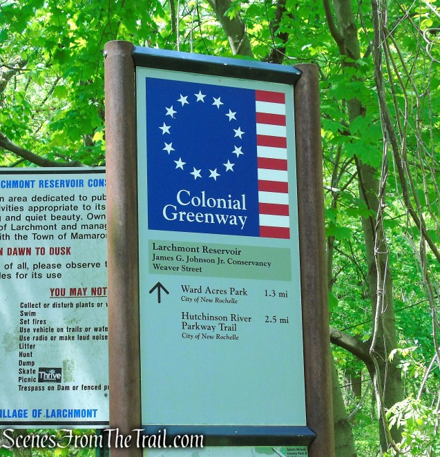 Colonial Greenway - Larchmont Reservoir