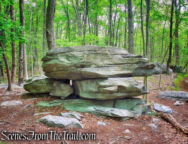 Layer Cake Rock - Westchester Wilderness Walk